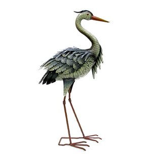 Durant Heron On Foot Statue Image