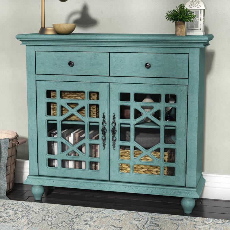 Lark Manor Mauldin 2 Drawer 2 Door Cabinet Reviews Wayfair
