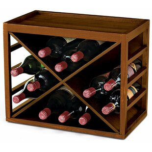 Leopold 12 Bottle Tabletop Wine Rack by D..