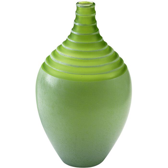 Cyan Design Green Glass Table Vase Wayfair