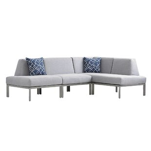 Del Mar Sectional With Cushions by Tommy Bahama Outdoor #2