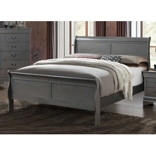 Charlton Home Machias Panel Bed
