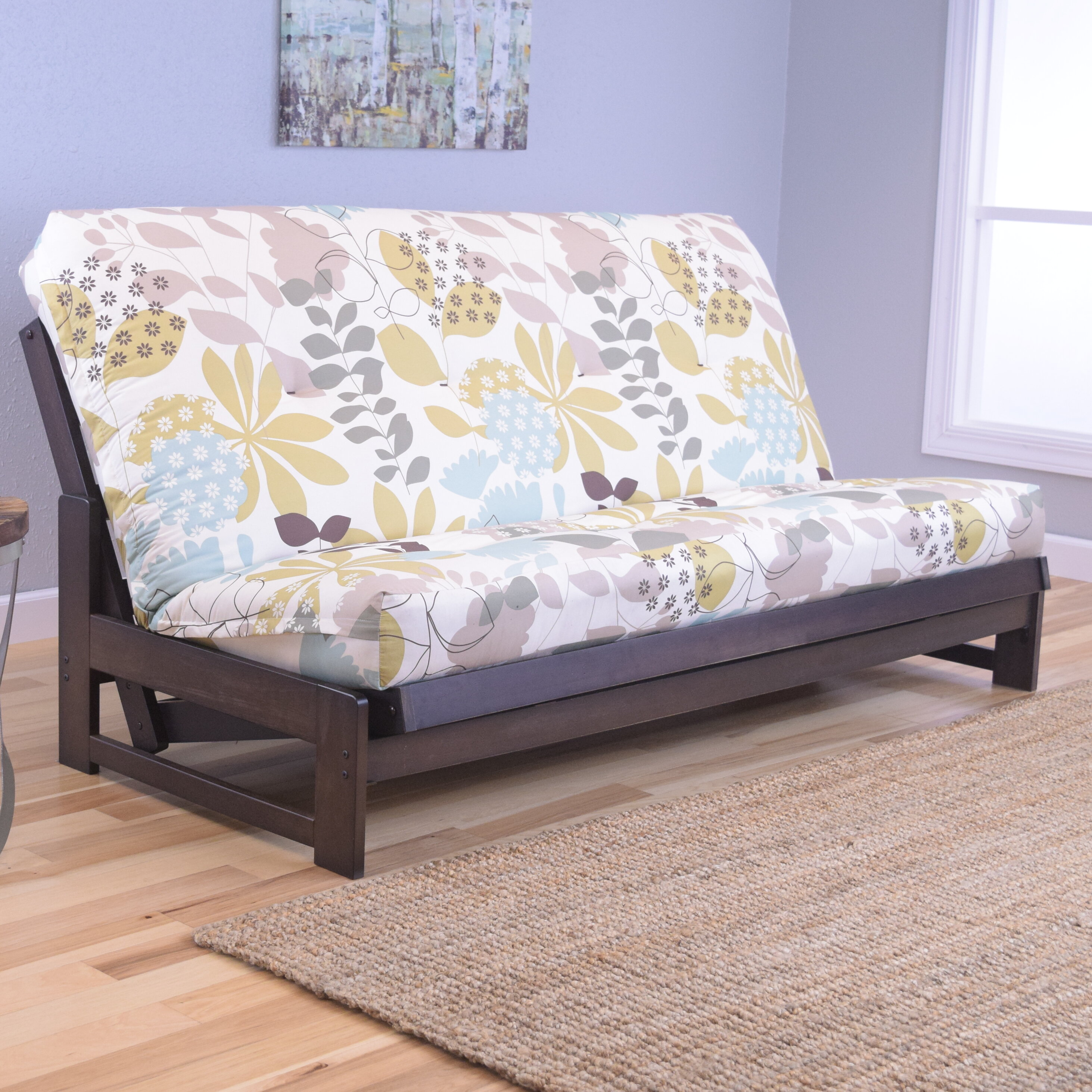 protector chair p straps recliner futons loveseat reversible futon extra with long brilliant wing furniture