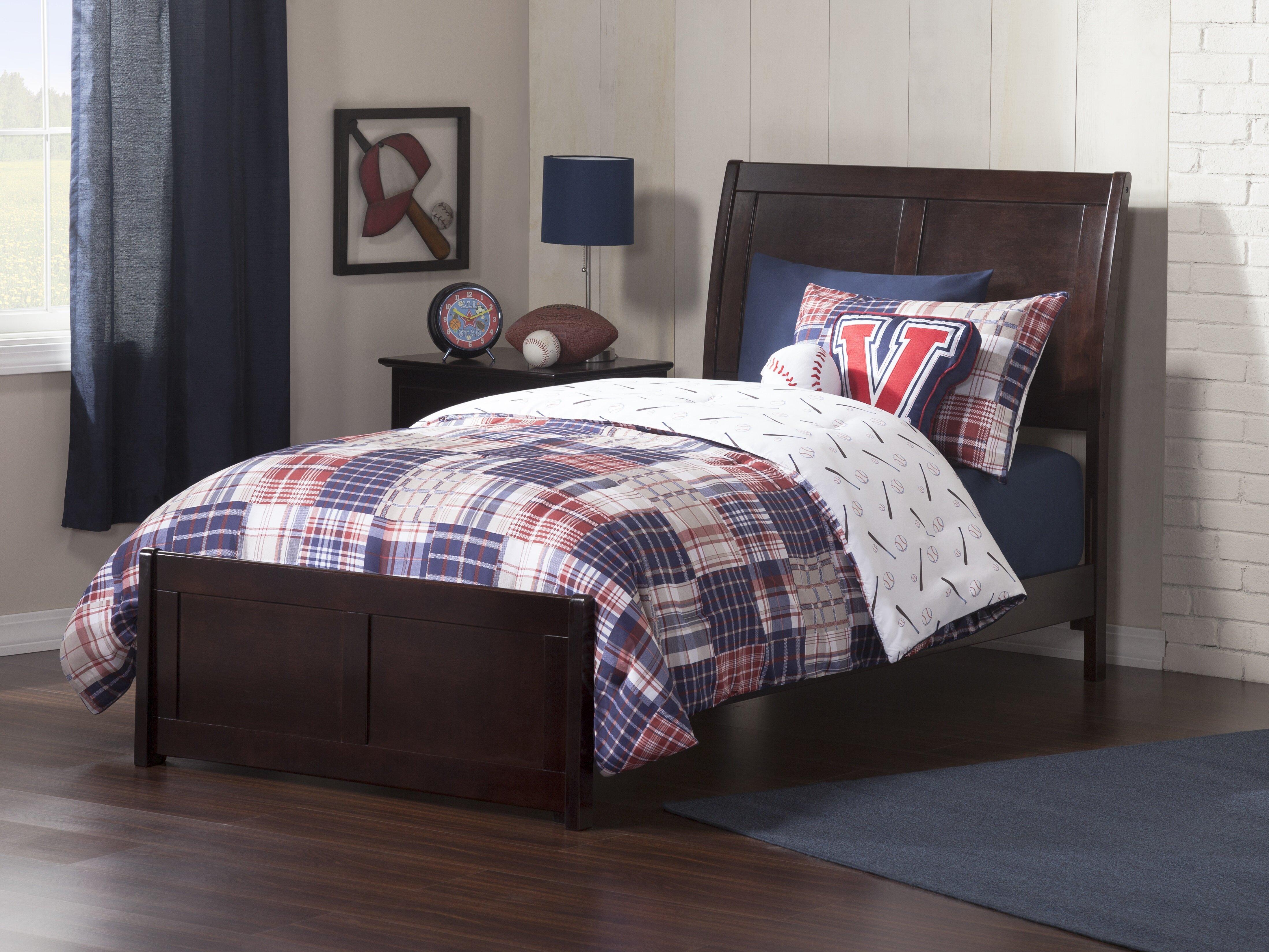 Harriet Bee Quitaque Twin Panel Bed Reviews Wayfair