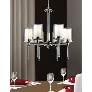 Latitude Run Kirsch 6-Light Shaded Chandelier