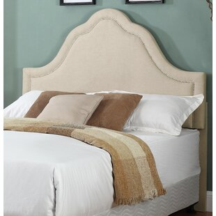 Affordable Brooks Upholstered Panel Headboard by House of Hampton