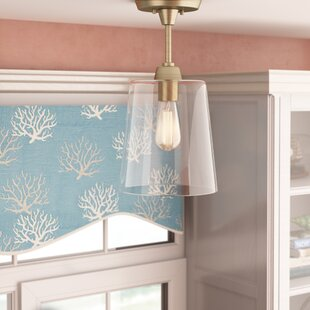 Breakwater Bay Wakefield 1-Light Semi Flush Mount