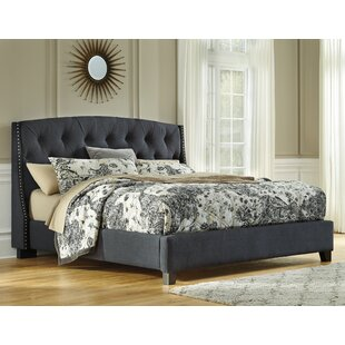 Clearmont Upholstered Panel Bed by Greyleigh