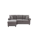 Dea 85 Wide Left Hand Facing Sofa & Chaise by Red Barrel Studio®