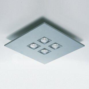 Polifemo 4-Light Semi Flush Mount by ZANEEN design