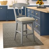 Colasanto Swivel Bar & Counter Stool by August Grove®