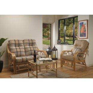 Sales Julianna 3 Piece Conservatory Sofa Set