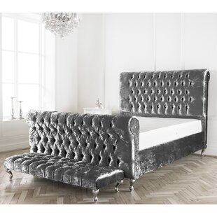 Samson Upholstered Bed Frame By Willa Arlo Interiors