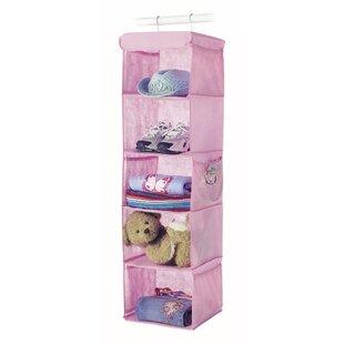 Whitmor, Inc 5-Compartment Hanging Shoe Organizer (Set of 6)