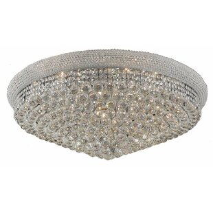 Willa Arlo Interiors Jessenia 20-Light Flush Mount
