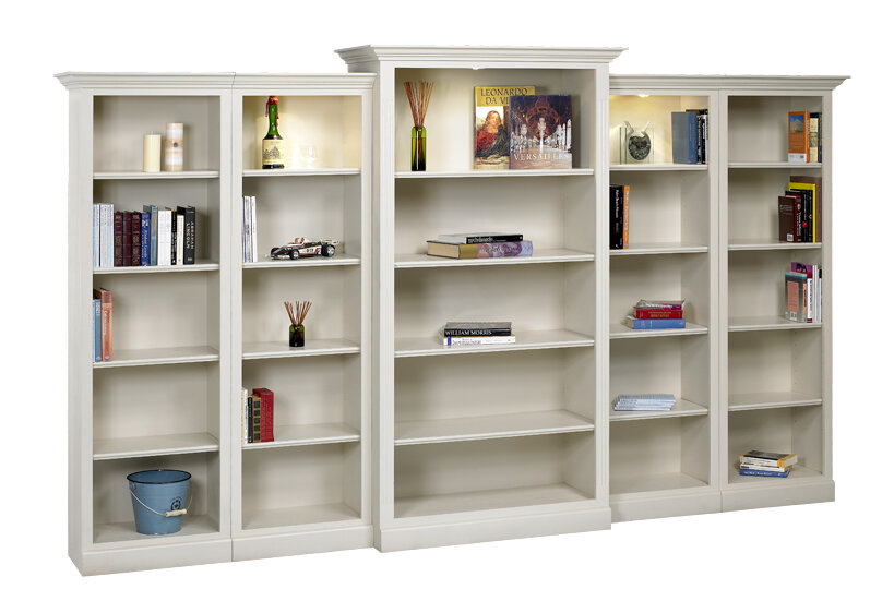 Hampton Oversized Set Bookcase By A&E Wood Designs