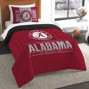 NCAA 2 Piece Twin Comforter Set