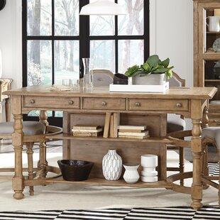 One Allium Way LaSalle Rectangular Counter Height Pub Table