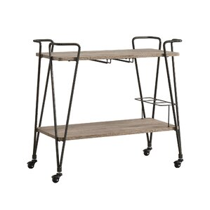 Bongiorno Bar Cart by Mercury Row