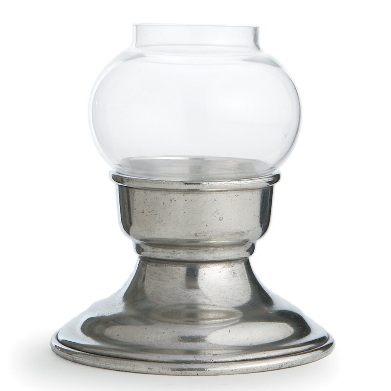 Arte Italica Giovanna Small Glass And Metal Votive Holder Wayfair