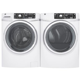 4.9 Cu. Ft. Front Load Washer and 8.3 Cu. Ft. Gas Dryer by GE Appliances