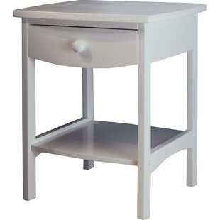 Price Check Carlton 1 Drawer Nightstand by Andover Mills