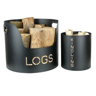 Steel Log Carrier By Symple Stuff