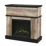Hackleburg TV Stand for TVs up to 43 with Electric Fireplace Included by Gracie Oaks