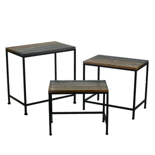 Werner 3 Piece Coffee Table Set By August Grove