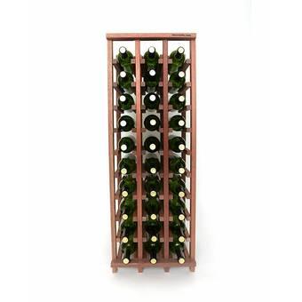 17 Stories Tackett 72 Bottle Floor Wine Bottle Rack Wayfair