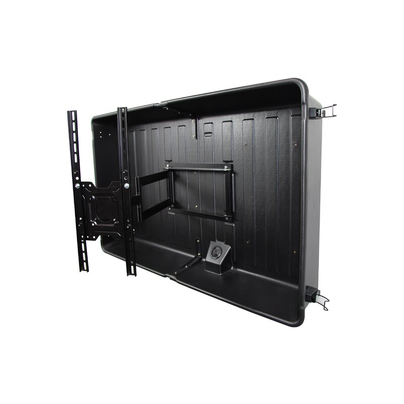 Storm Shell Ss 55 Outdoor Tv Enclosure Black Tilt Holds Up To 100 Lbs Reviews Wayfair
