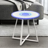 Chiverton Glass End Table by Brayden Studio®