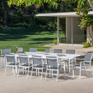 Anahi 11 Piece Outdoor Dining Set by Orren Ellis
