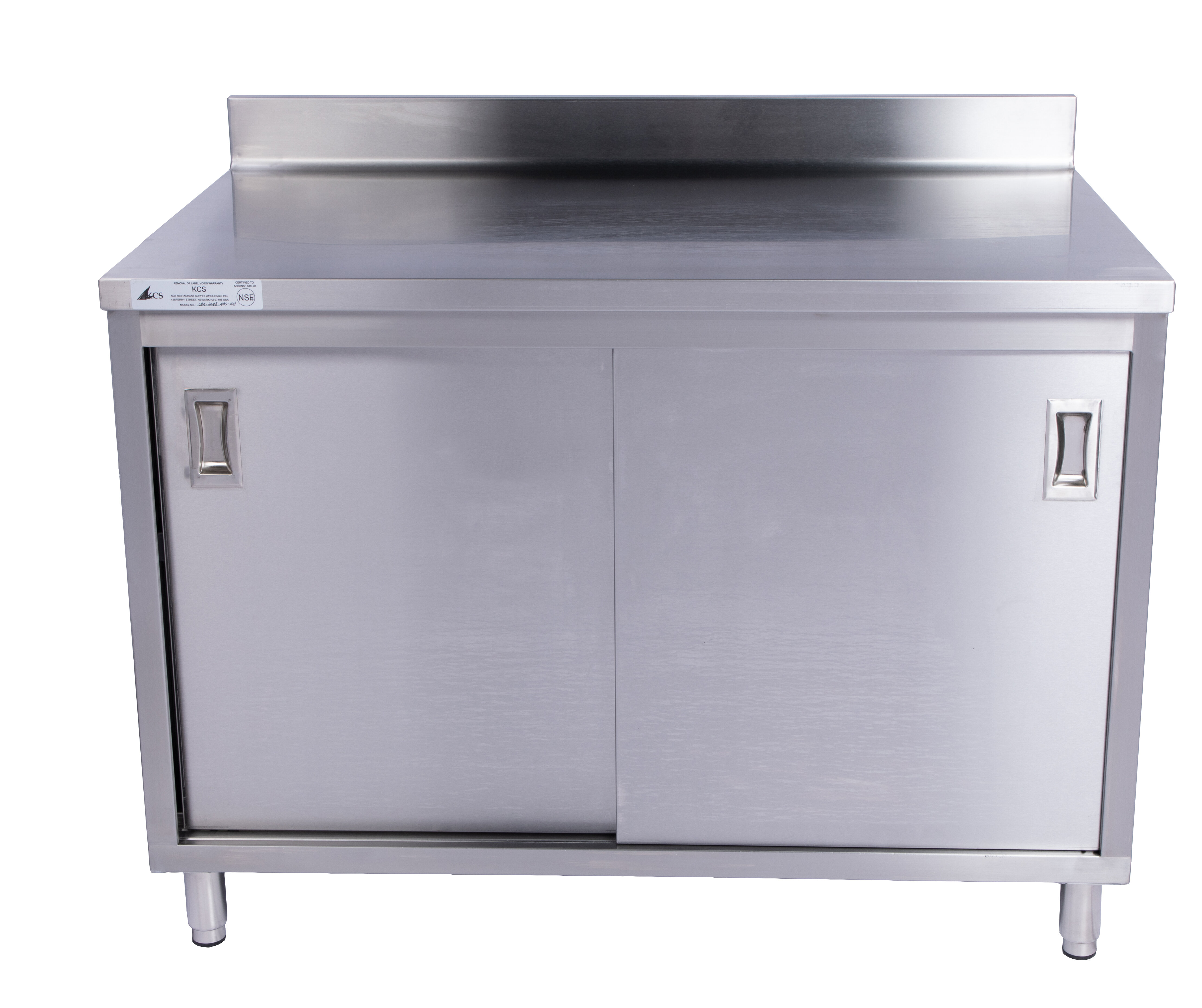Restaurant Supply Depot Stainless Steel Enclosed Base Work Table