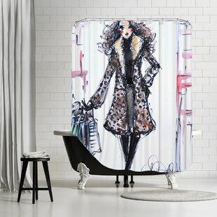 Paris TheFix Single Shower Curtain