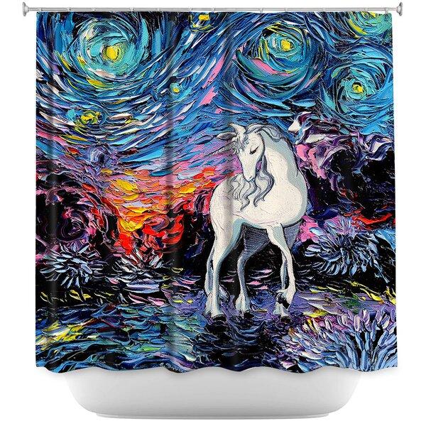 Unicorn Shower Curtain Wayfair