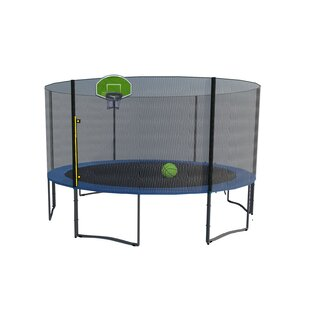 Exacme Round Trampoline with Safety Enclosure
