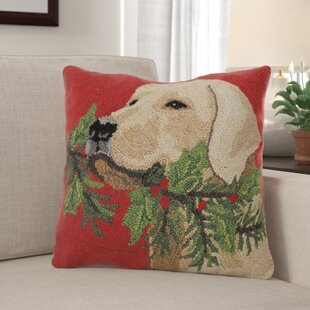 Hooked Wool Holiday Pillows Wayfair
