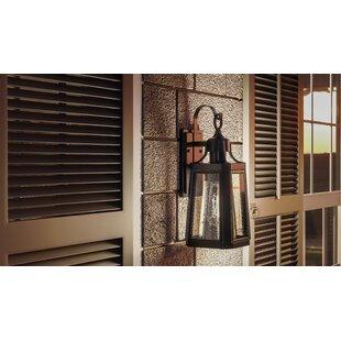 Nitish Single 1-Light Outdoor Wall Lantern by Gracie Oaks