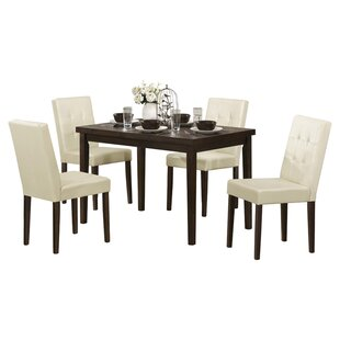 Newton 5 Piece Dining Set Latitude Run
