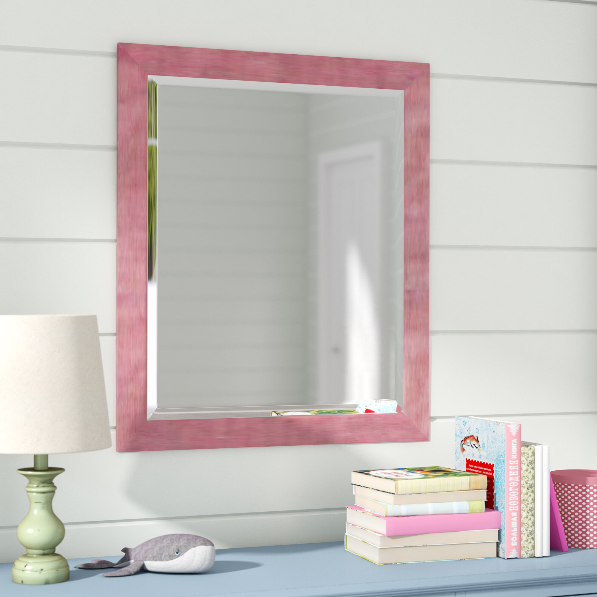 Harriet Bee Vintage Rectangle Full Length Wall Mirror