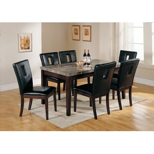 Taliaferro 7 Piece Dining Table Set Latitude Run