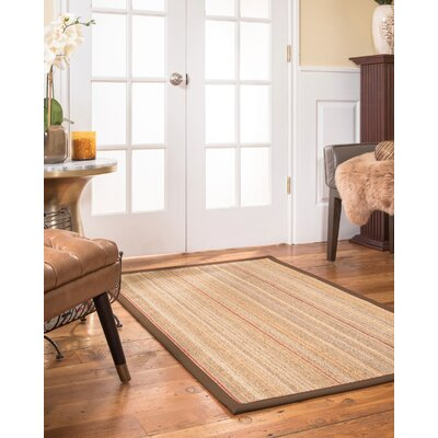 Sisal Brownfudge Area Rug Bayou Breeze