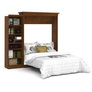 Acevedo Queen Storage Murphy Bed by Latitude Run