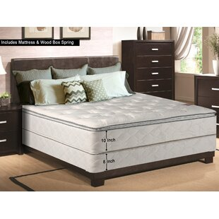 10 Firm Pillow Top Mattress With Box Spring By Spinal Solution