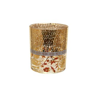 Patina Vie Coco Rocks 15 oz. Old Fashioned Glass (Set of 4)