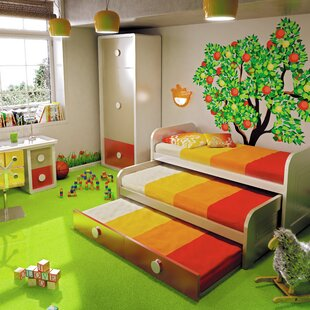 Purchase Harrill Kid Trundle Twin Mate's & Captain's Bed with Drawers by Zoomie Kids Reviews (2019) & Buyer's Guide