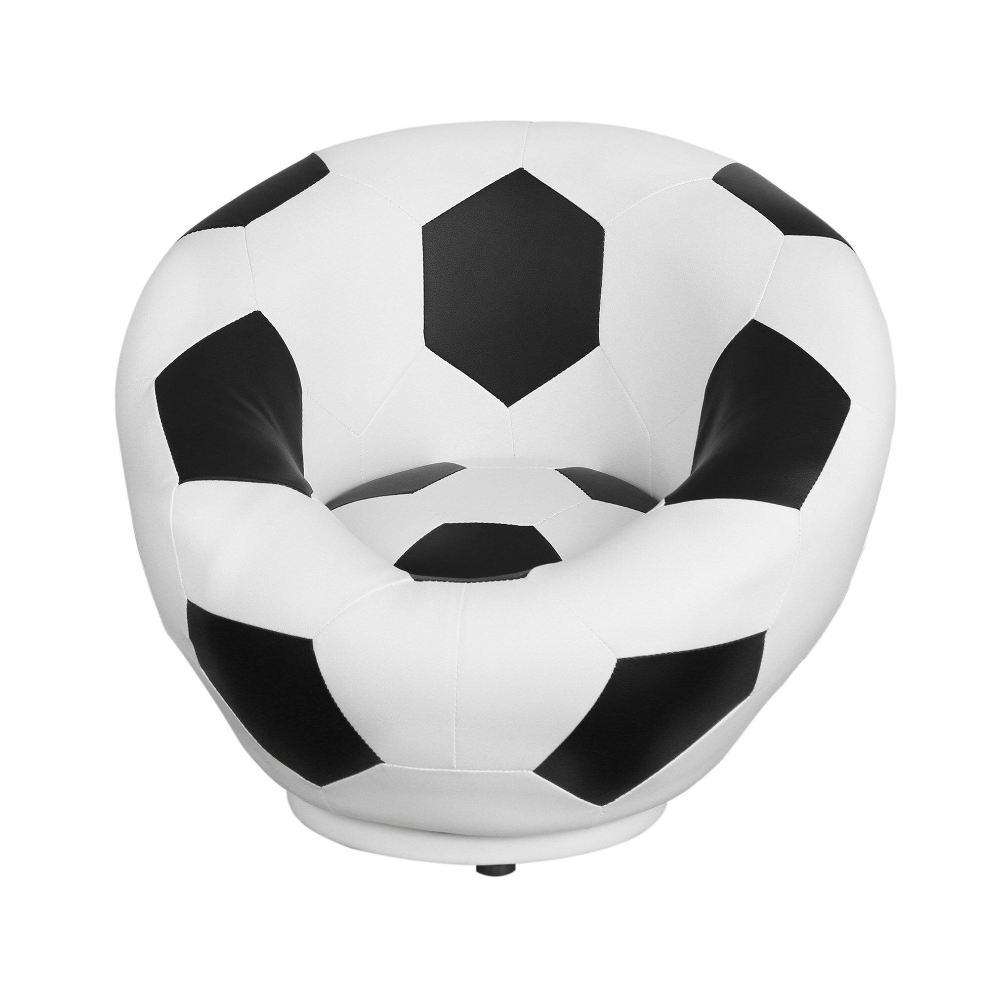 Wondrous Soccer Ball Kids Swivel Chair Pdpeps Interior Chair Design Pdpepsorg