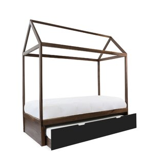 Domo Zen Canopy Bed with Trundle by Nico and Yeye
