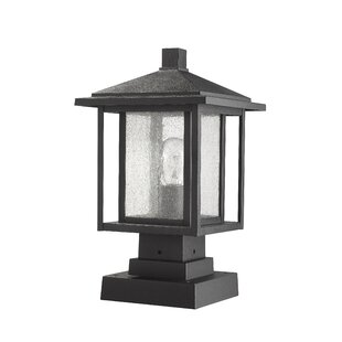 Hungate 1-Light Outdoor Pier Mount Light